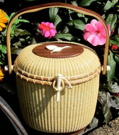I bought one of these gorgeous nantucket baskets when I was there <3