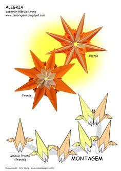 Diagrama da Estrela Alegria - MK ZenOrigami pg 2
