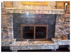Fireplace Glass Doors, Custom Glass, Hearth, Image, Design, Home Decor, Log Burner, Home, Decoration Home