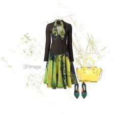Spring green & yellow