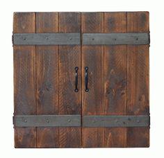 2-Day Designs Dart Board Cabinet 601 - 2-Day Designs Dart Board Cabinet 601SKU: 601Manufacturer: 2-Day DesignsProduct Type: CabinetFinish: RusticMaterial: WoodDimensions: 25 x 25 x 6