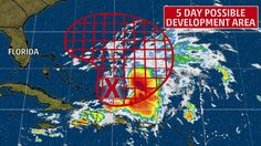 Meteorologist Domenica Davis has the latest on Invest 99-L, now likely to develop.