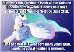 Let's make a national day Luna draw her cutie mark on your wrist and wear an item that's black with a moon on her birthday December 21 for Celestia draw her cutie mark on your shoulder and wear something white with a sun on her birthday June 21!