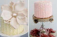Ruffled & Romantic Dessert Table via Amy Atlas