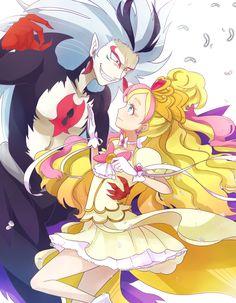 Go! Princess Pretty Cure Close and Cure Flora (Haruka)