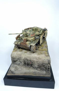 Panzer III 1/35 Scale Model Diorama