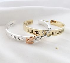 You are my Anchor cuff
