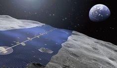 Japanese engineers plan to turn the moon into a giant solar panel station