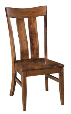 Amish Sherwood Dining Chair You can rely on the strength, beauty and comfort of Amish dining chairs. The Sherwood is built to order in choice of wood and finish.