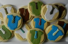 Cookie Trays - Buttercup Cookie - little man cookies!---that would be adorable for a baby shower.