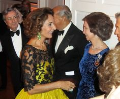 Naty Abascal, Duchess of Feria and Queen Sofia of Spain
