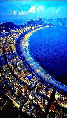 Paradisiaca plajă din Rio de Janeiro - Brazilia