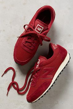 New Balance 410 Sneakers Wine 10 Sneakers #anthrofave