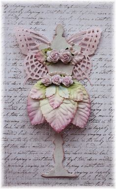 Magical Fairy Dress Form for Scrapbooking, Mixed Media, Altered Art, Cardmaking