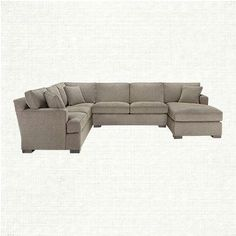This Sectional Wraps A Room In Comfort! The Dune 3 Piece Sectional In  Driscoll Marble