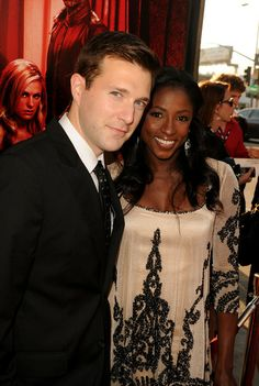 Rutina Wesley and James Fishel. The two met each other in class at Julliard School of Performing arts, and have been rocking ever since.