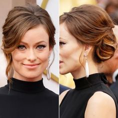 Love this beautiful Olivia Wilde updo! Elegant but still soft and wearable Bun Hairstyles For Long Hair, My Hairstyle, Trending Hairstyles, Formal Hairstyles, Celebrity Hairstyles, Bride Hairstyles, Hair Updo, Long Haircuts, Make Up