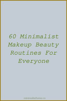 You've most likely discovered that minimalism (specifically minimalist beauty ... And I made peace with this when I streamlined my makeup regimen, ...... Minimalist Desk, Minimalist Makeup, Minimalist Beauty, Minimalist Home Decor, Beauty Makeup, Face Makeup, Small Makeup Bag, Make Peace, Tinted Moisturizer
