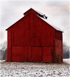 christmas barn - oh how i would love this in my yard to decorate for the holidays