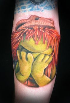 Fraggle tattoo