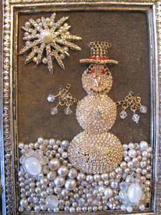 OOAK Vintage Rhinestone Costume Jewelry by MyJewelryStash on Etsy