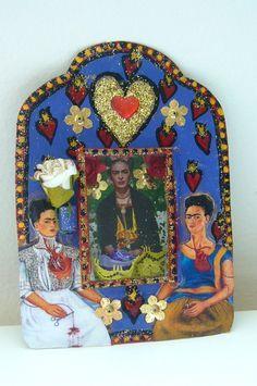 Image result for frida kahlo shrines pinterest
