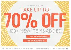 email newsletter #newsletter #design #email #emailnewsletter #layout #newsletterlayout Newsletter Layout, Email Newsletter Design, Email Newsletters, Sale Emails, Email Design Inspiration, Advertising And Promotion, E-mail Marketing, Sale Banner, Banner Design
