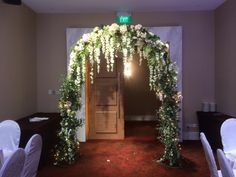 Flower Arch by Rosette Designs & Co