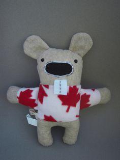 Beaver Stuffed Anaimal Toy by Jambeary on Etsy Baby Items, Dinosaur Stuffed Animal, Canada, Group, Toys, Animals, Animales, Animaux, Animais