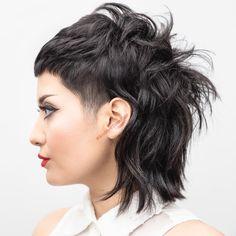 50 Most Universal Modern Shag Haircut Solutions Edgy Hair gestuft Haircut modern Sha Shag Solutions Universal Edgy Short Haircuts, Short Shag Hairstyles, Short Bangs, Short Hair Cuts, Cool Hairstyles, Black Hairstyles, Hairstyles Haircuts, Hair Cuts Edgy, Short Punk Hair