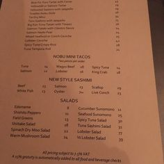 Graycliff Restaurant Menu Nassau