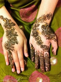 Simple Mehndi Designs | Easy Mehndi Designs For Beginners (1)Photos Pictures Pics Images