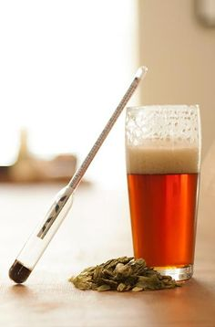 A hydrometer is an essential tool for homebrewers. Here's our step-by-step guide to learn how to use a hydrometer in just four easy steps. Brewing Recipes, Homebrew Recipes, Beer Recipes, Home Brewery, Home Brewing Beer, Brew Your Own Beer, Homemade Liquor, Brew Pub, How To Make Beer