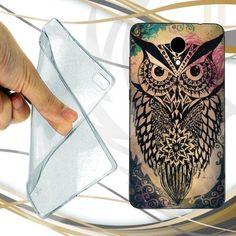 awesome CUSTODIA COVER CASE OWL TRIBAL PER WIKO U FEEL