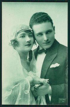1910s Bridal Portrait