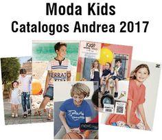 catalogo andrea kids 2017. Ropa y zapatos de moda para niños y niñas.