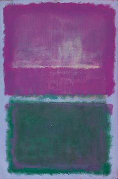 Mark Rothko, Untitled (Lavendar and Green) ,1952