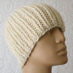 38b96ff47f7 Cream ivory winter white beanie hat mens womens beanie hat cream toque mens  womens knit hat mens womens winter hat cream chemo cap wedding