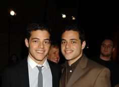 Rami Said Malek (born May is an American actor and his parents are Egyptians. Rami has a younger brother called Sami. Sami Malek, Rami Said Malek, Charlie Sheen, Hollywood, Gisele Bundchen, Second Best, Dwayne Johnson, Interesting Faces, Tom Cruise
