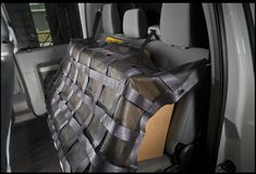 Interior Cargo Restraint by Bednet The Bednet Interior Cargo Restraint keeps cargo safely in the back seat so drivers can concentrate on driving. Back Seat, Rear Seat, Truck Bed Net, Car Parts And Accessories, Cargo Net, Jeep Parts, Tonneau Cover, Roof Rack, T Rex