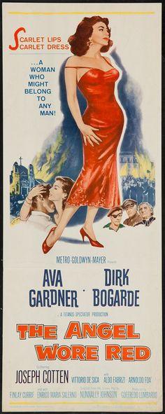 The Angel Wore Red (1960) Stars: Ava Gardner, Dirk Bogarde, Joseph Cotten, Vittorio De Sica, Aldo Fabrizi