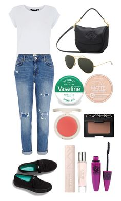 """EXACT* eleanor calder outfit and makeup set"" by littlea316 ❤ liked on Polyvore featuring Mulberry, Ray-Ban, River Island, Keds, Therapy, Rimmel, Maybelline, Topshop and NARS Cosmetics"