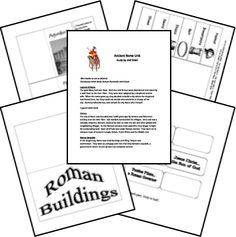 Free Ancient Rome Lapbook and Unit Study - Homeschool Share