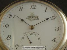 """Doppelmantel Taschenuhr """"Dostal"""" - Mechanische Taschenuhren - Clock, Omega Watch, Watch, Clocks"""