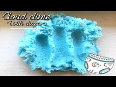 This is my first video and slime tutorial! Social media's will be in the end of the video. I hope you enjoy this video and did you try it out? Sands Recipe, How To Make Clouds, Edible Slime, Indoor Crafts, Clear Glue, Girl Bedroom Designs, Slime Recipe, Diapers, Puddings