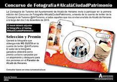 CIDAJ: Concurso #AlcaláCiudadPatrimonio