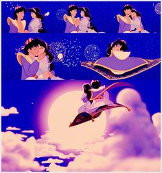 Favorite Kiss- Aladdin & Jasmine at the end of the movie