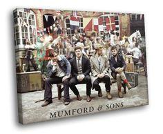 HC0100-Mumford-and-Sons-English-folk-rock-band-Music-CANVAS-PRINT Music Canvas, Mumford, Rock Bands, Sons, Photo Wall, English, Canvas Prints, Wall Art, Photograph