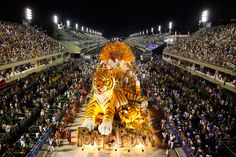 Sequin-clad samba dancers at Rio de Janeiro's iconic parade.    Read more: http://www.ctv.ca/gallery/html/ent-carnival-rio-120220/index_.html
