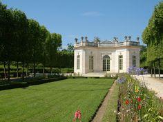 Les Jardins à la française. Le pavillon français. Palais de Versailles. © EPV / Christian Milet